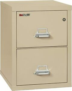 New 2 Fireking Fireproof 2 Drawer Vertical File Cabinet 2 2125 cpa Legal Size