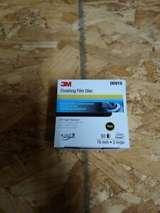 3m 0910 Hookit Finishing Film Disc 3 Inch P800 Grit 00910