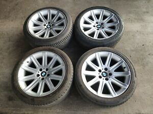 2006 Bmw 750 Rims Wheels Three Tires R19 245 45 And One R19 275 40 C24