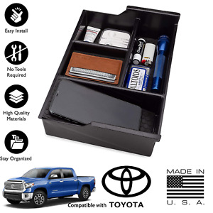 Toyota Tundra Sequoia Center Console Organizer And Storage Box