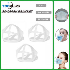 6pcs 3d Stand Inner Support Face Mask Bracket Breathing Space Mouth Protection