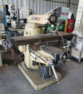 Bridgeport Series Ii Special Milling Machine Base Only No Head