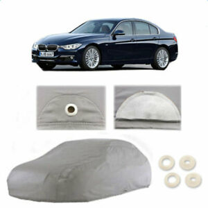 Full Car Cover Waterproof Dust proof Uv Resistant Outdoor W reflective Light Xl