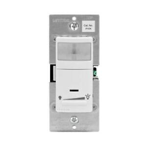 Decora Motion Sensor In wall Dimmer Auto on 2 5 A Single Pole Or 3 way