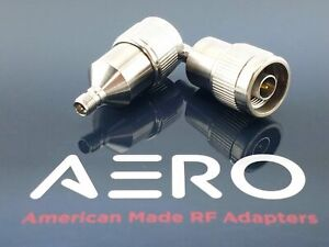 Aero 18 Ghz High Performance 3 5mm Female To Type N Male Rf Adapter Made In Usa