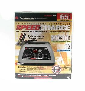 Schumacher Sc 6500a Speedcharge Automatic Battery Charger 65 Amp Engine Start