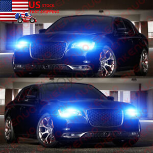 For Chrysler 200 300 2011 2015 2x Combo Led Headlight Kit Hi low Beam Bulbs 8k
