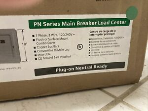 New Siemens 100 Amp Indoor Main Breaker Electrical Panel Box 24circuit 12 Space