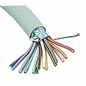 Jameco Valuepro Sc15 100 Multi conductor Cable Shielded 15 Conductor 24 Awg