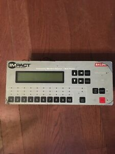 Impact Baldwin Automatic Blanket Cleaner Web Press Controller With Display