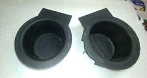Ford F 150 Expedition Center Console Rubber Cup Holder Drink Insert Set 04 08