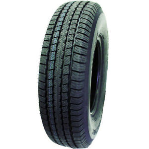 4 New Super Cargo St Radial St 225 75r15 Load D 8 Ply Trailer Tires