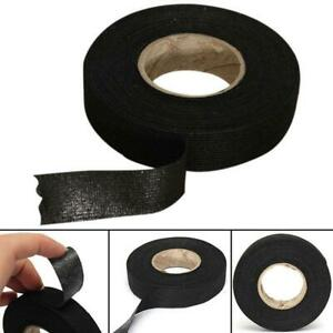 2pcs 19mmx15m Car Adhesive Electrical Cloth Tape Cable Loom Wiring Harness Roll