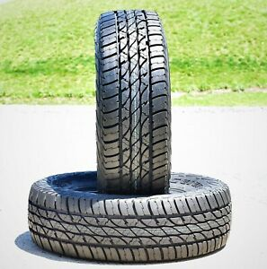 2 New Accelera Omikron A T Lt 285 75r17 Load E 10 Ply At All Terrain Tires