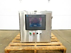 Mo 3920 Stainless Sce Electrical Enclosure W Allen Bradley Panelview 1000