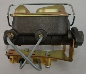 1964 1969 Ford Mustang Master Cylinder And Proportioning Valve Disc Drum