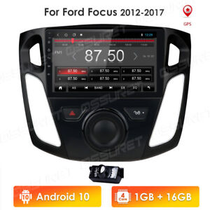 9 Android 10 Car Radio Stereo Gps For Ford Focus 2012 2013 2014 2015 2016 2017