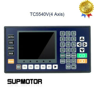 4 Axis Cnc Motion Controller W 3 5 inch Color Lcd For Router Servo Stepper Motor