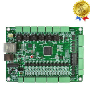 6 Axis Mach3 Board Cnc Motion Controller Usb ethernet For Cnc Engraving Machine