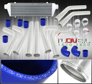 2 5 Fmic Piping Pipe Kit Turbo Intercooler Silicone Couplers T Bolt Clamp