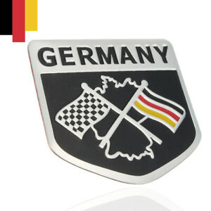 German Flag Emblem Grille Badge Metal Racing Car Decal Sticker Decor Accessories Fits 2009 Toyota Tacoma