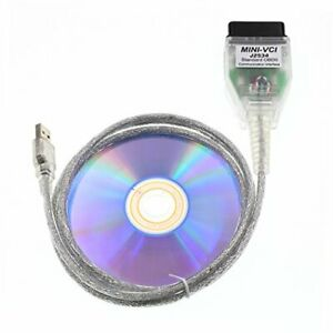Diagking Mini Vci J2534 Tis Techstream Diagnostic Cable For Toyota Firmware V1 4