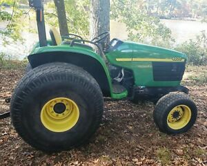 John Deere 4600 Diesel Farm Tractor Low Hours