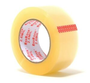 36 Rolls Redrock 2 X 110 Yds 2 6 Mil Clear Heavy duty Packing Shipping Tape