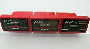 3 Snap On Mt2500 Scanner 99 2000 Domestic Asian Troubleshooter Trans Cartridges