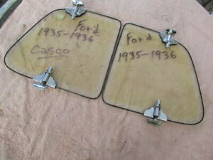 1935 1936 Nos Ford Casco Accessory Wind Wings For A Closed Car