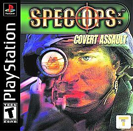 Spec Ops: Cover Assault Sony Playstation PS1 $10.99