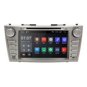 Android 10 2din Car Dvd Radio Gps Fit For Toyota Camry 2007 2008 2009 2010 2011