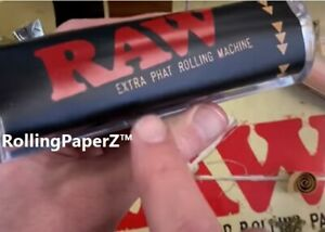 Raw Rolling Papers Fatty Fat Phatty Phat Roller 125mm Cigar Size Rolling Machine