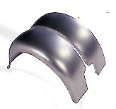 Ford Model A Roadster And Coupe Steel Rear Fender Set 1930 1931