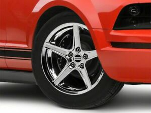 American Muscle Saleen Wheel In Chrome 18x9 Rim Fits Ford Mustang 05 09 Gt V6