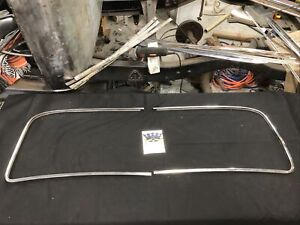 1947 1953 Chevrolet Truck Outside Stainless Windshield Trim Moulding 1950 1951