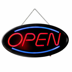 Animated Motion Ultra Bright Open Business Sign Store Led Neon Light W On off