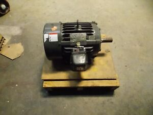 Us Motors Electric Continuous Duty Motor 10 Hp 3510 Max Rpm 3 Phase Model h313