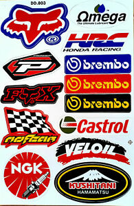 1 Rockstar Energy Motorcross Hrc Motogp Yamaha Decal Racing Sticker Repsol