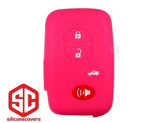 1x New Keyfob Remote Fobik Silicone Cover Fit For Select Toyota Vehicles