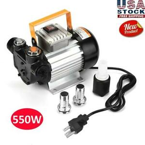 Electric Fuel Pumps oil Diesel Kerosene Transfer Self Priming Pump Kit 110v