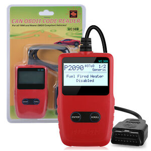 Obd2 Scanner Auto Diagnostic Scan Tool Car Code Reader Engine Check Us Stock
