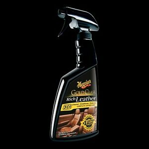 Meguiar s G10916 Gold Class Rich Leather Cleaner Conditioner Uv Protectant