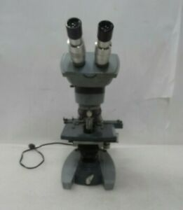 Ao Spencer American Optical 1036 Binocular Microscope 1036 With 4 Objectives