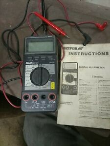 Actron Cp7680 Digital Multimeter Professional Series new