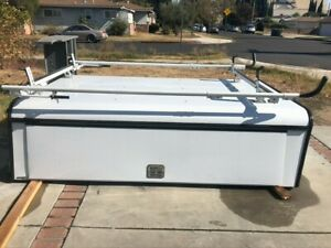 Silverado 8 Bed Utility Shell With Ladder Rack And Side Tool Box 101 x72 x27