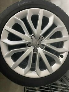 19 Audi A6 s6 Oem Wheels Continental Mud snow Winter Ao Tires