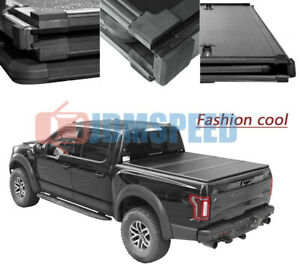Hard Solid Tri Fold Tonneau Cover For 2004 2015 Nissan Titan 5 7 Ft Bed Pickup T