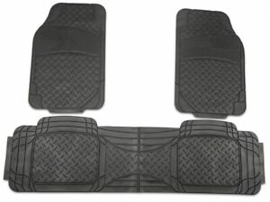 Trushield All Weather Floor Mat Set In Black Rear Fits Ford F 150 97 14