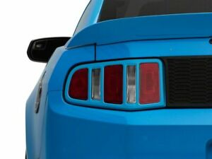 Mmd Tail Light Trim Unpainted Retro Inspired Styling Fits Ford Mustang 2010 2012